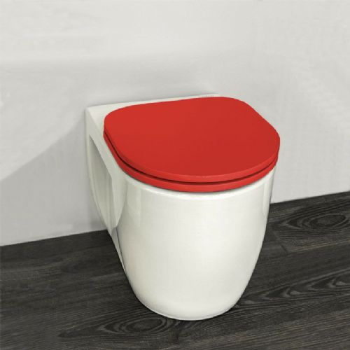 H&L Junior Series Childrens Toilet with Red Seat